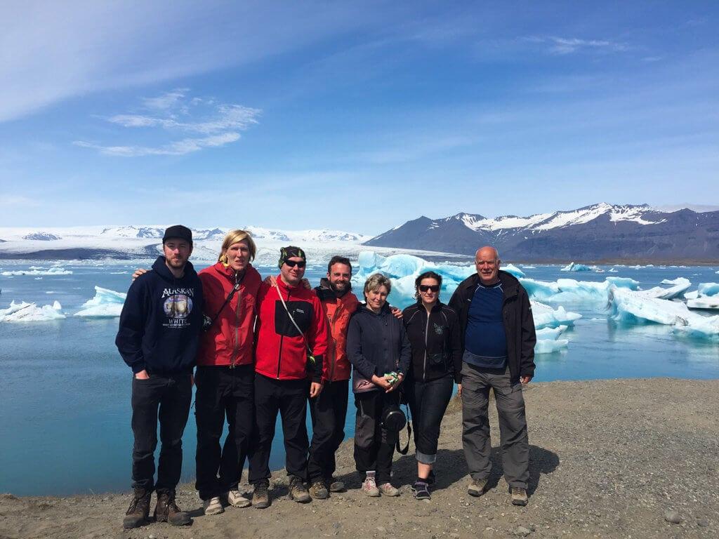 Skupina expedice Island 2016