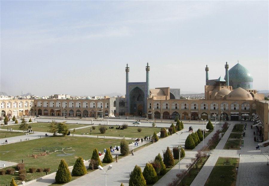 Náměstí v Esfahanu