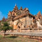U většiny menších chrámů v Baganu budeme sami
