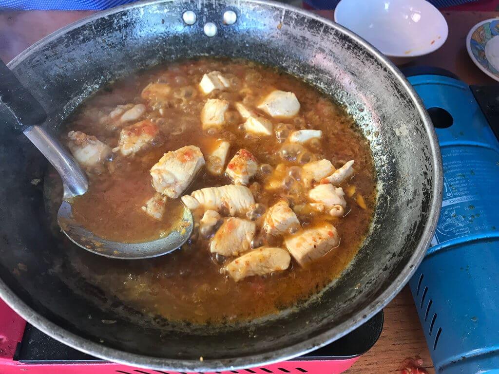 Vaříme barmské curry