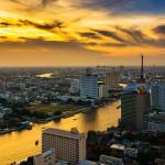 Bangkokské panorama