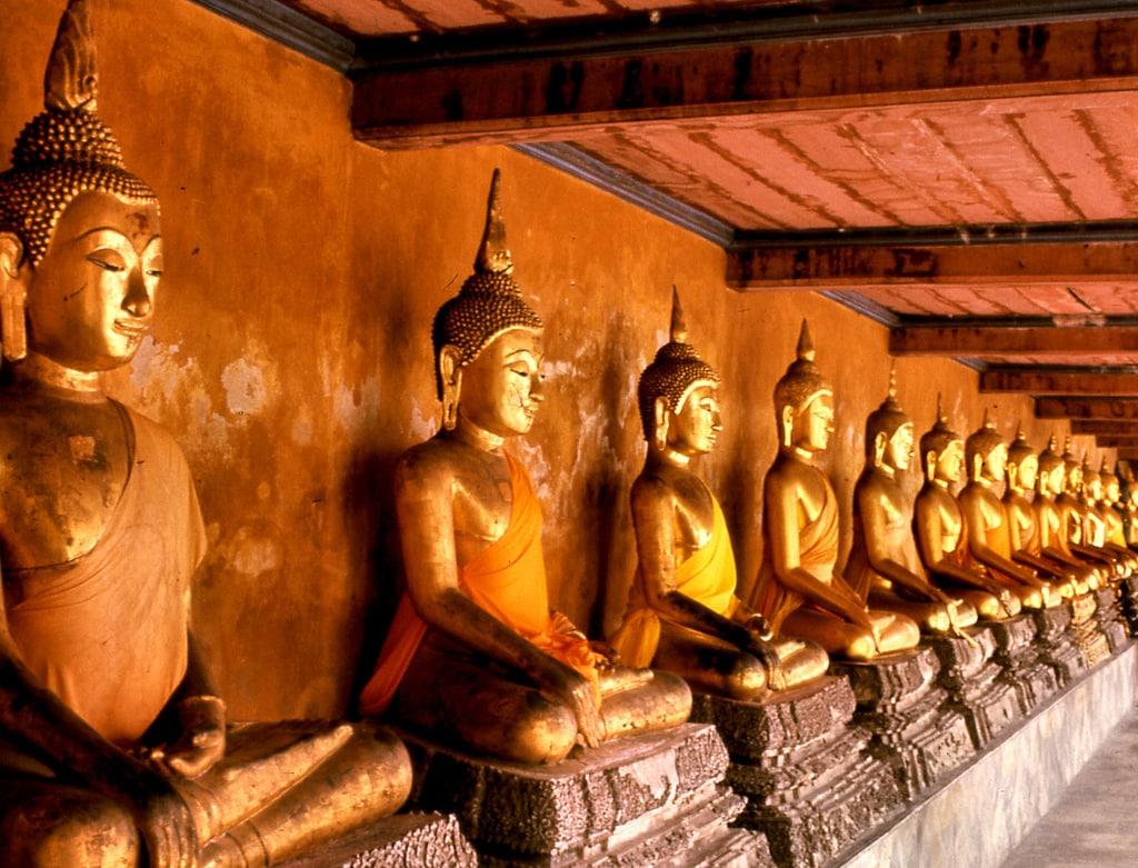 Chrám Mahathat v Bangkoku