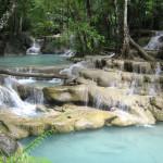 Vodopády Erawan