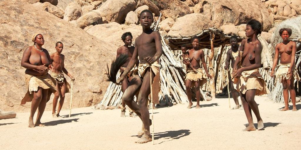 Dalším tradičním kmenem jsou Damarové (foto: Irena Raková)