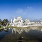 Bílý chrám Rong Khun v Chiang Rai