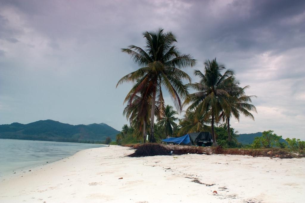 Pohodové kempování na ostrově Koh Yao Yai