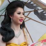 Thajská kráska v Chom Thongu