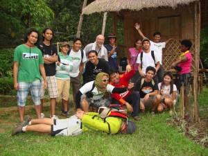 Botanická vycházka s filipínskými akvaristy, Cebu, Filipíny