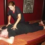Thajská masáž, Kanchanaburi, Thajsko