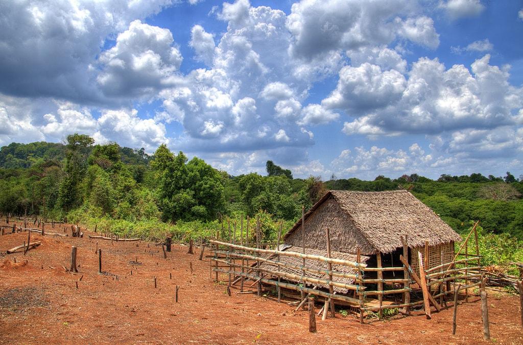 Ubytování na venkově? Pouze farma v aprílovém počasí