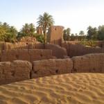 Kasbah poblíž M'Hamidu