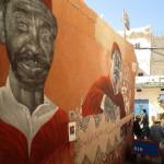 Street art v Essaourii