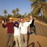 Zdravíme z M'Hamidu