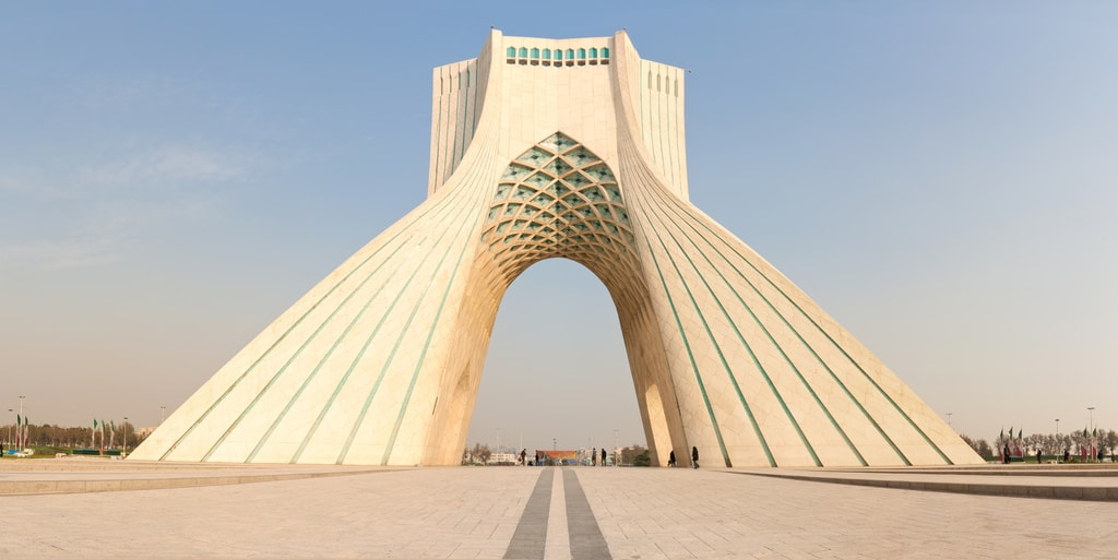 Azadi tower, dominanta Teheránu (autor: Miguel Librero)