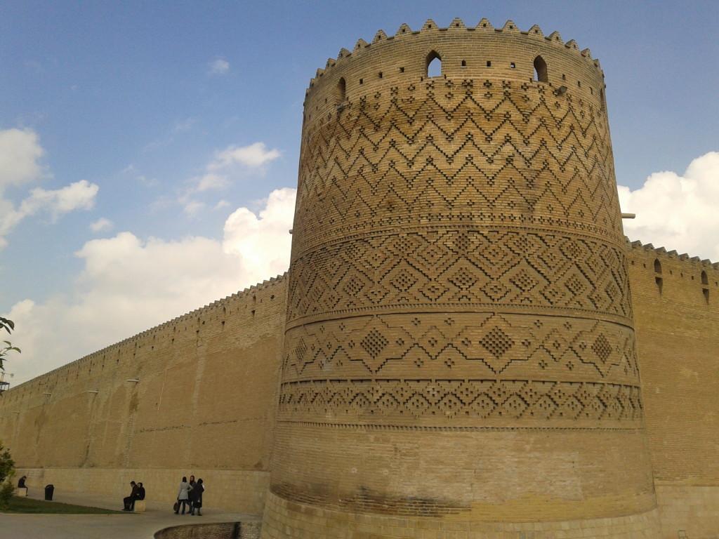 Hradby v Shirazu