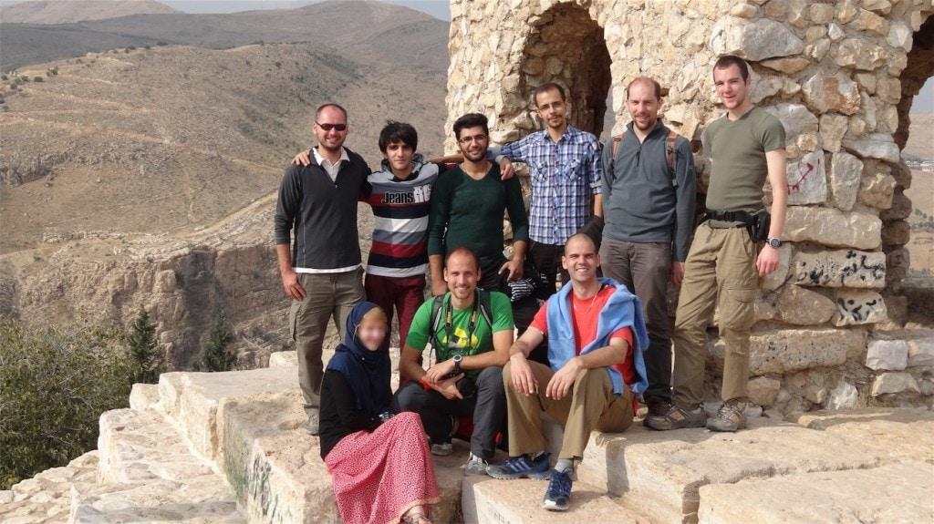 Na vyhlídce nad Širazem