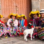 Peruánské ženy v Cuscu
