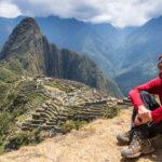 Jan Miřacký na Machu Picchu, Peru