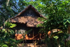 Chata v pralese, Puerto Maldonado, Peru