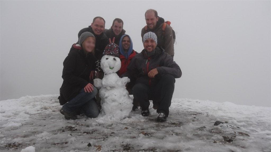 Snehulak kolem Darbandu