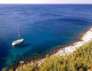 Expedice Řecko - jachta