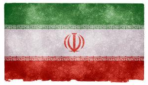 Iran Grunge Flag od Nicolas Raymond / CC BY 3.0