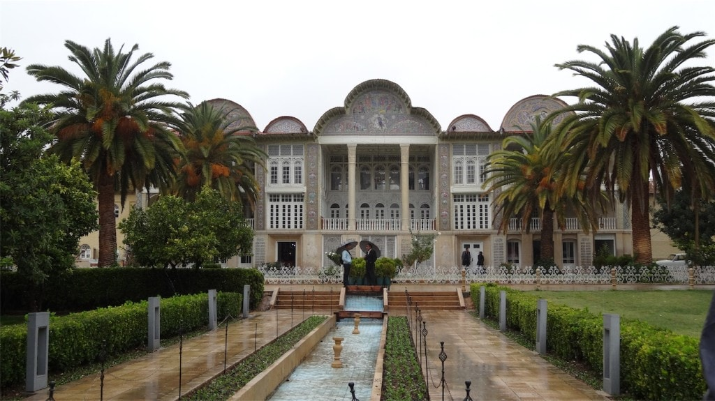 zahrada Eram v Širazu