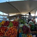 Loď ala ovoce a zelenina