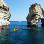 zátoka kleftiko u ostrova Milos