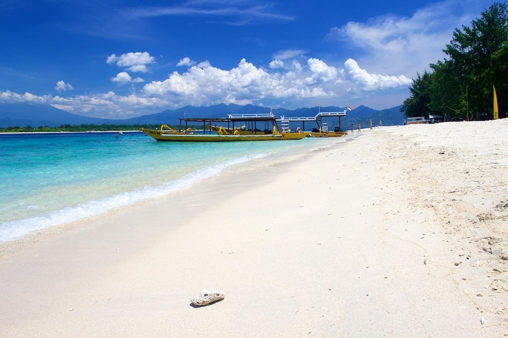 Exotická dovolená nemusí už být jen výsadou bohatých (Gili Trawangan, Indonésie)