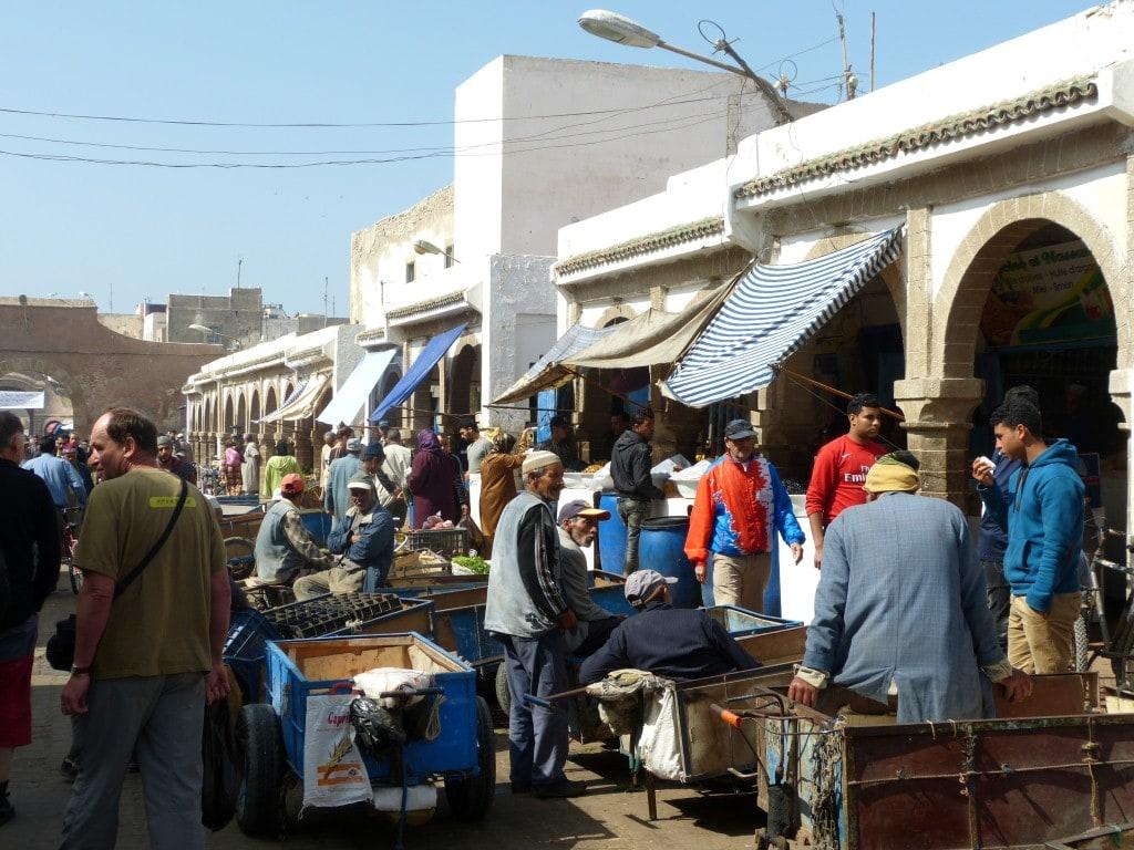 trhy v Essaouiře
