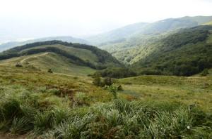 Krásná a nikým nerušená krajina v národních parcích Poloniny (SK) a Bieszczady (PL)