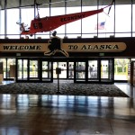 Přílet na Aljašku