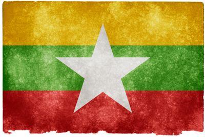 Myanmar vlajka