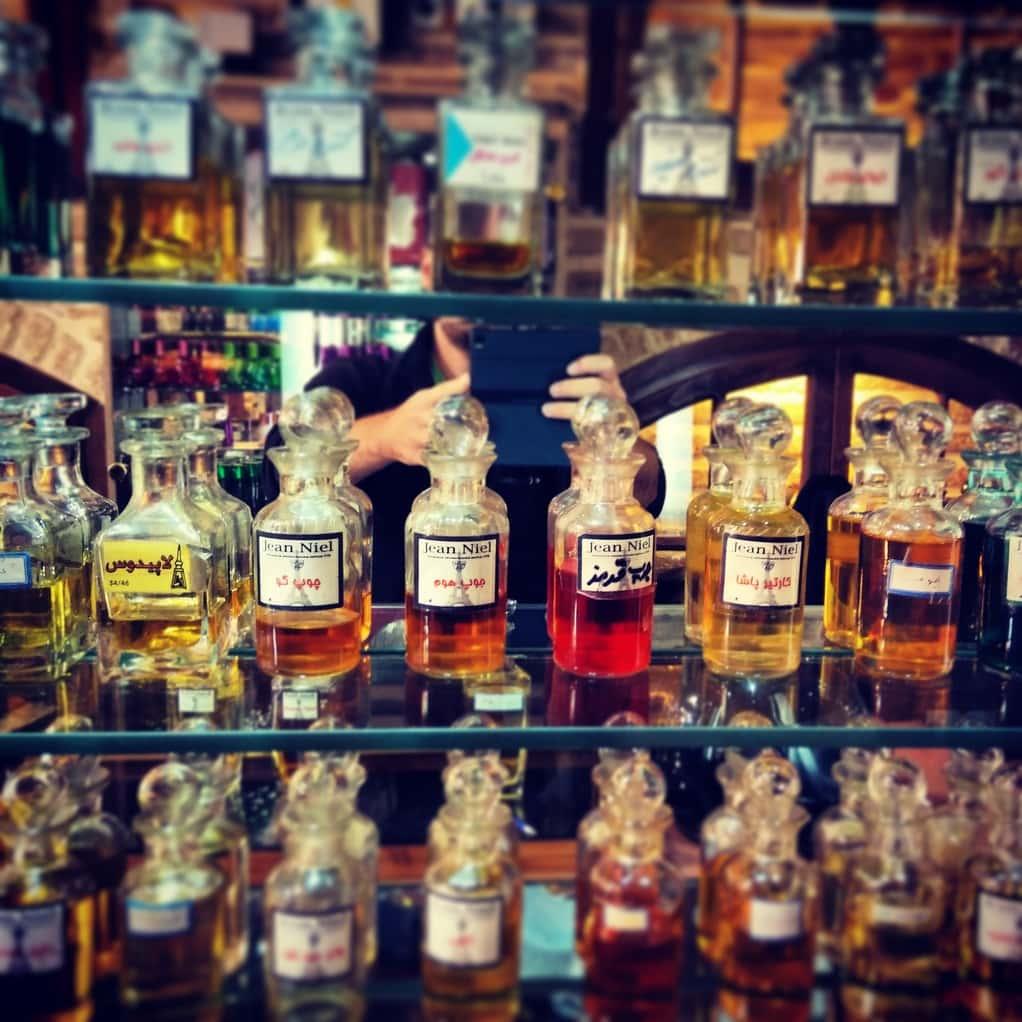 íránská perfumérie, Shiraz