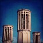 Bagdiry tj. větrné věže, aneb starodávná perská klimatizace