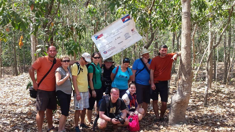 Pavel v rámci expedice Kambodža 2016
