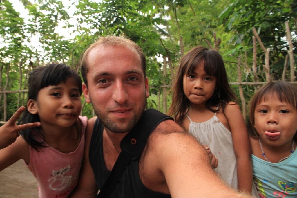 Pavel a indonéské děti