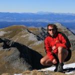 Vrchol Mt. Arthur, Nový Zéland