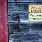 Pozor, nebezpečí! Finsko