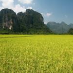 Malebná scenerie Laosu