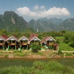 Slavné město Vang Vieng