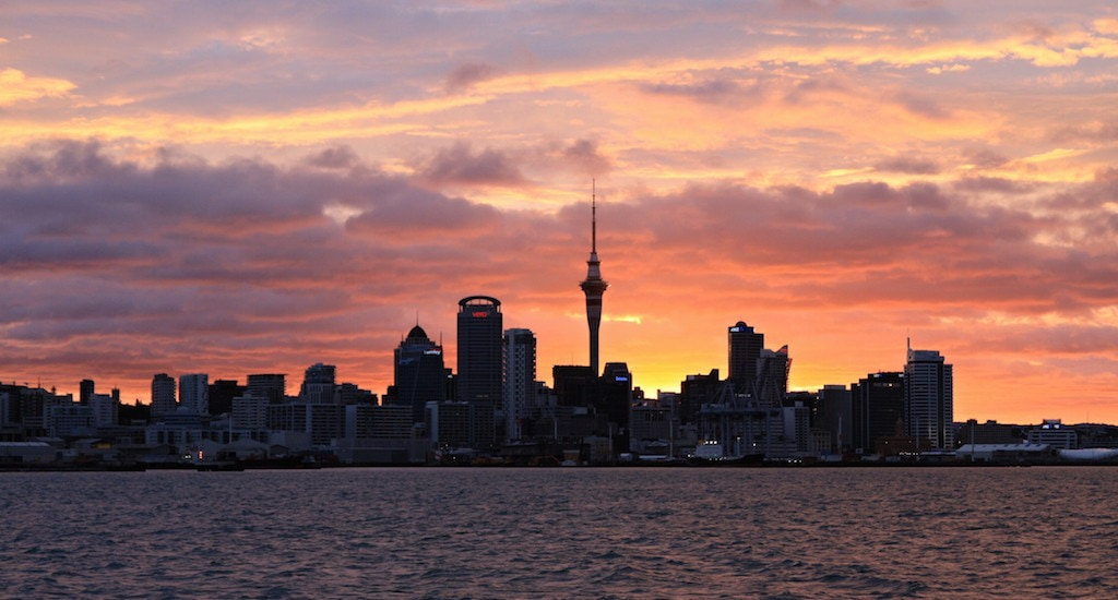 Auckland skyline (autor: Tomáš P.)