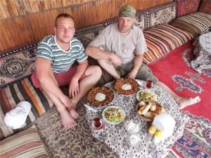 Saçtava,  jedno z výborných tureckých jídel