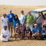 skupinovka na duně