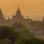 Bájné baganské pagody a duchové na hoře Popa