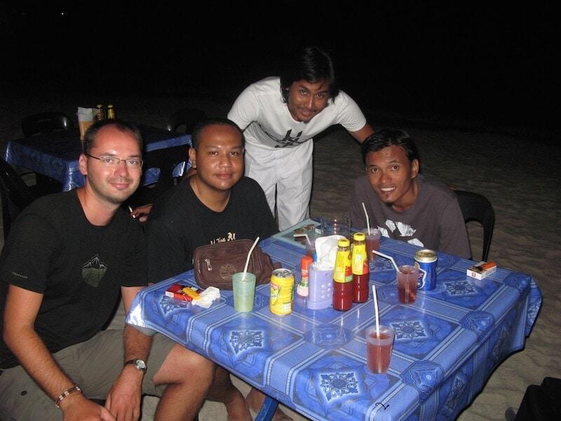 Jurek a jeho malajští přátelé