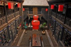 Tradiční ubytování v Číně