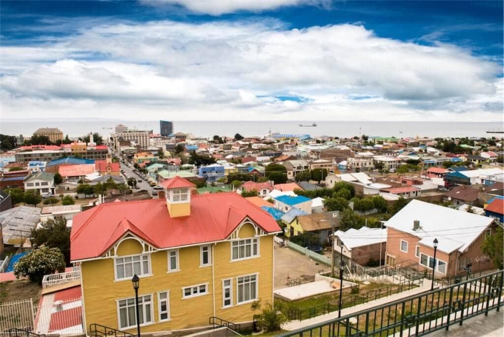 Hlavním městem chilské Patagonie je sympatické městečko Punta Arenas