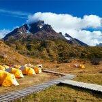 Kempování v NP Torres del Paine